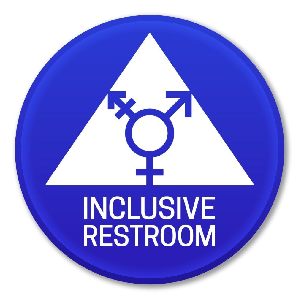 Business owners must take down the men's and women's signs from their one-person bathrooms by Jan. 1. Business owners must take down the men's and women's signs from their one-person bathrooms by Jan. 1. (BRANDON LAUFENBERG)
